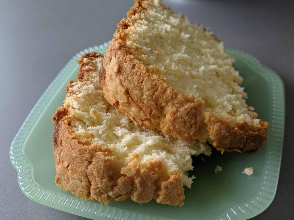 pound cake slices