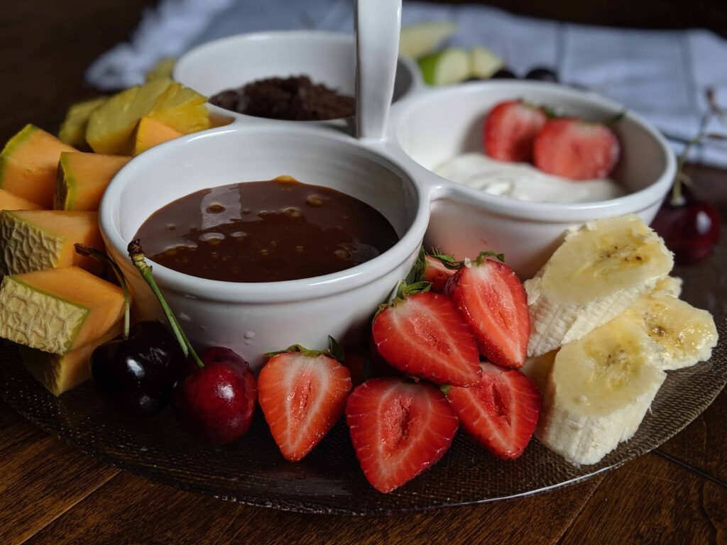 fruit dip 3-ways