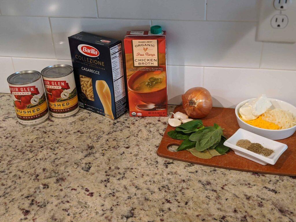 lasagne soup ingredients