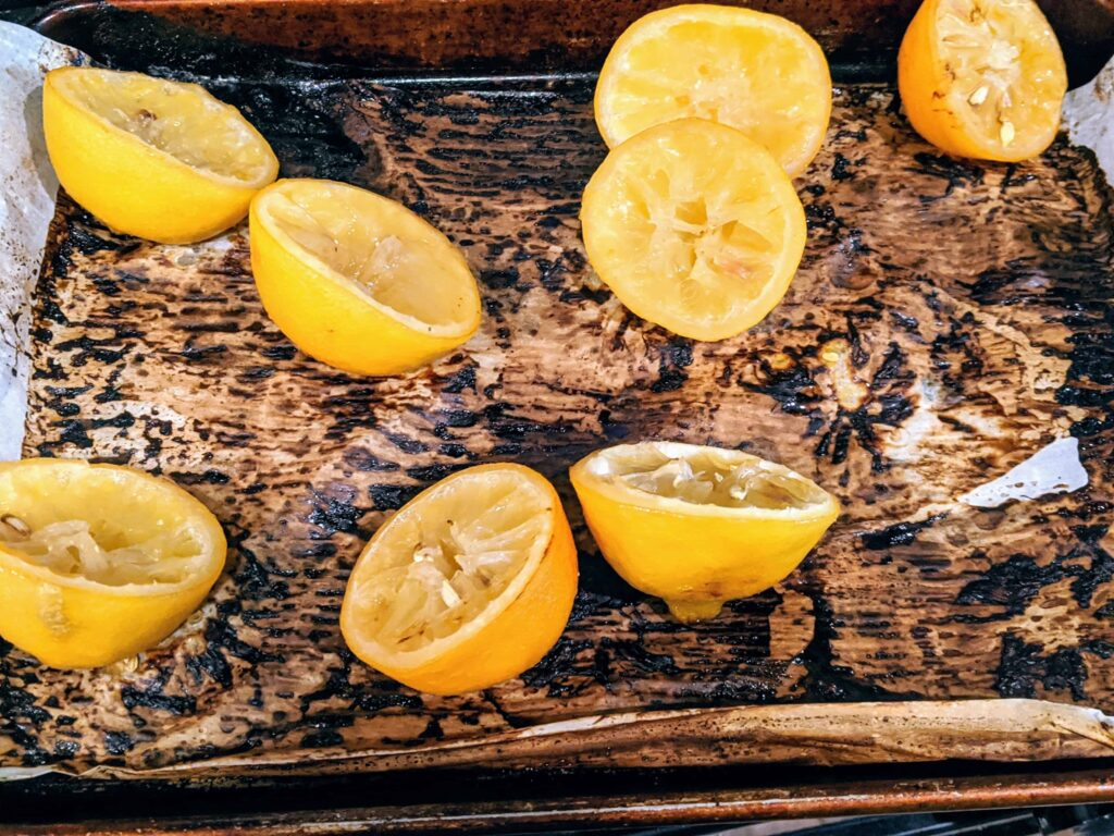 roasted lemons