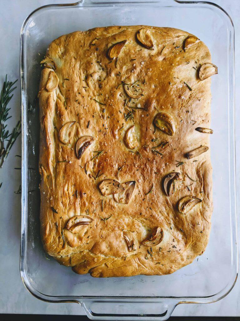 Rosemary Garlic Focaccia Bread