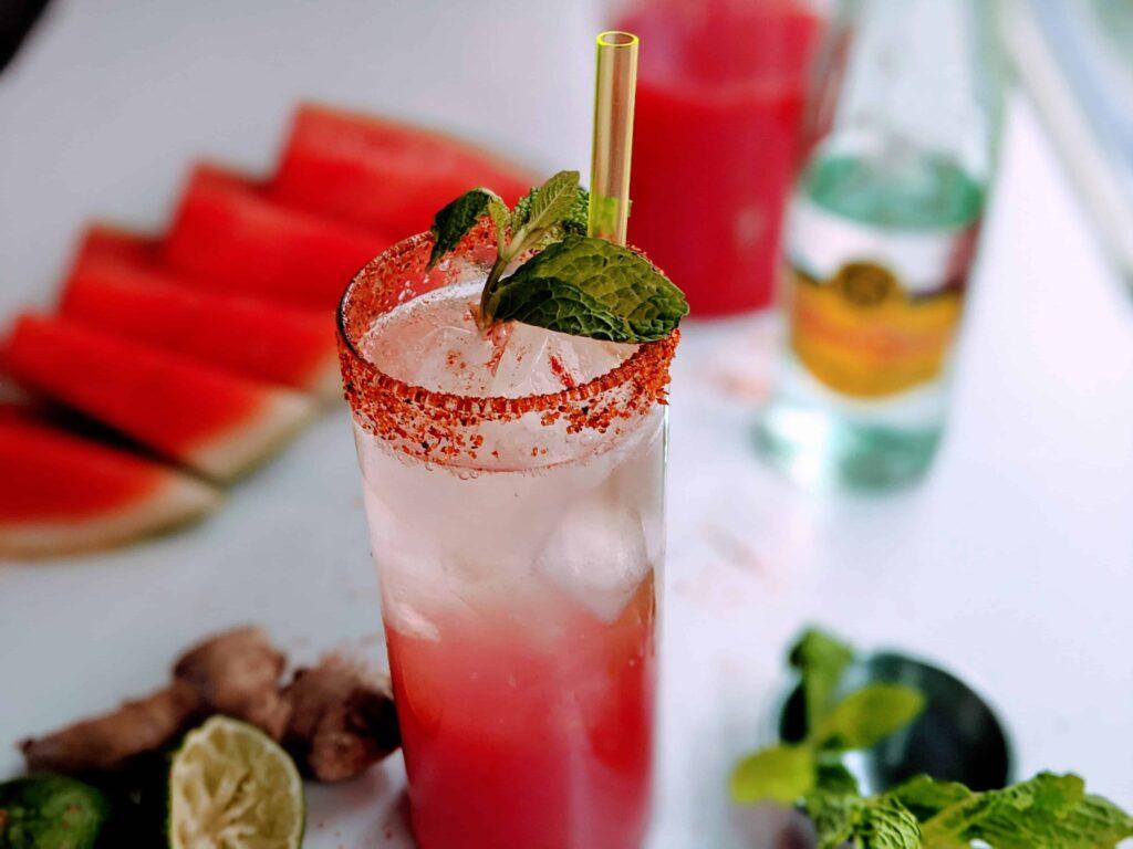 Summer Watermelon Fizz