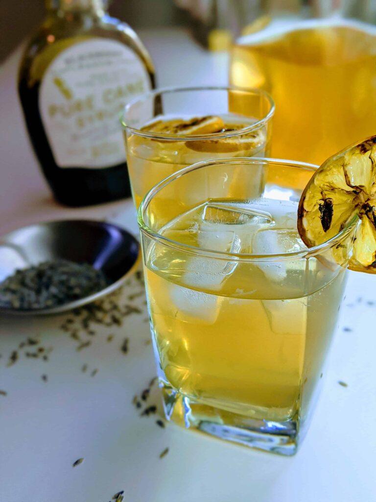 roasted lavender lemonade
