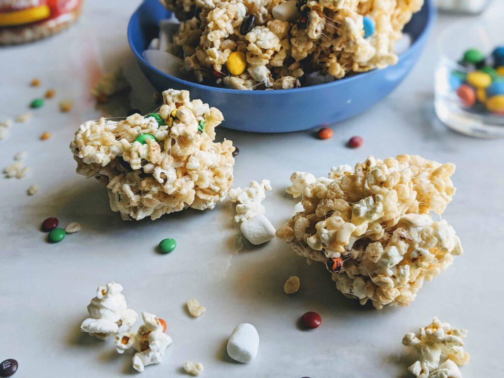 Rice Krispie Popcorn Balls
