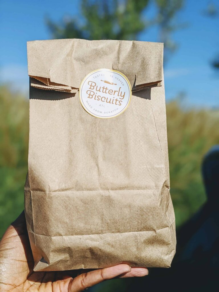 butterly biscuits bag