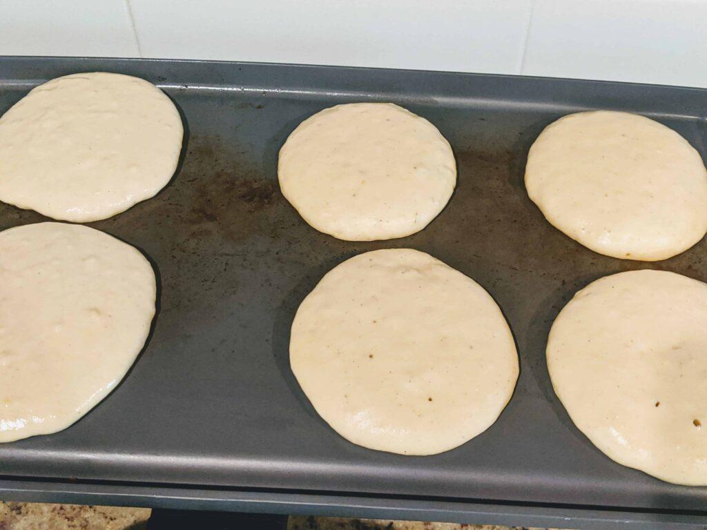 pancakes raw