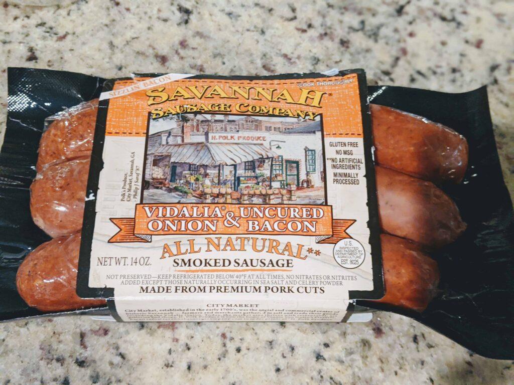 savannah vidalia onion sausage