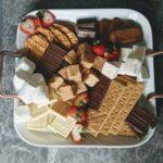 s'mores dessert board