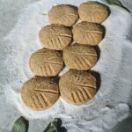 slice and bake brown butter sage shortbread cookies