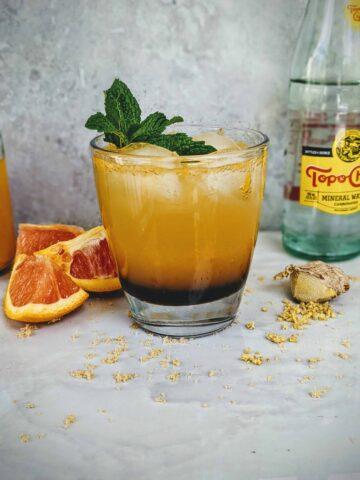 orange ginger cream soda