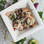 marinated key lime shrimp